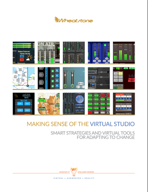 MAKING SENSE OF THE VIRTUAL STUDIO COVER