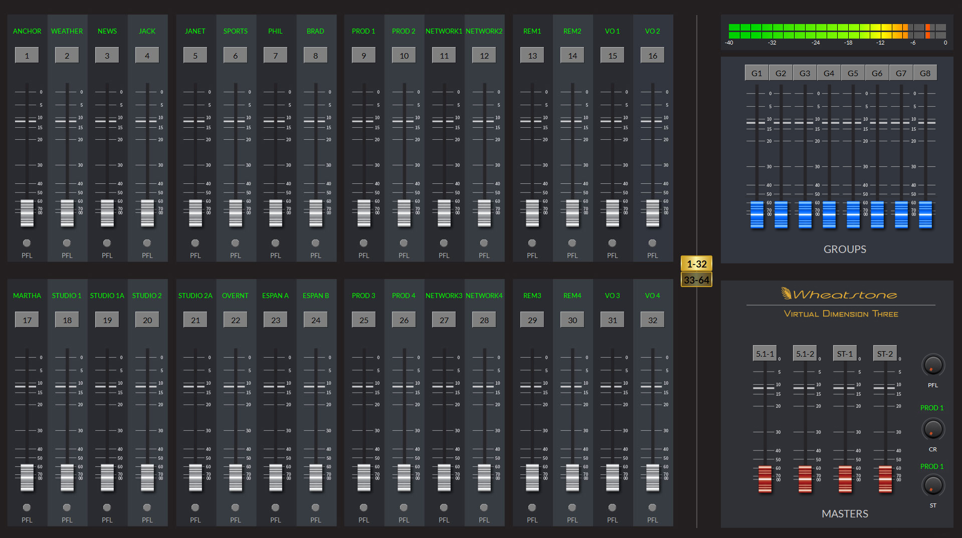WHEATSTONE SHOWS NEW VIRTUAL TV AUDIO CONSOLE THIS IBC