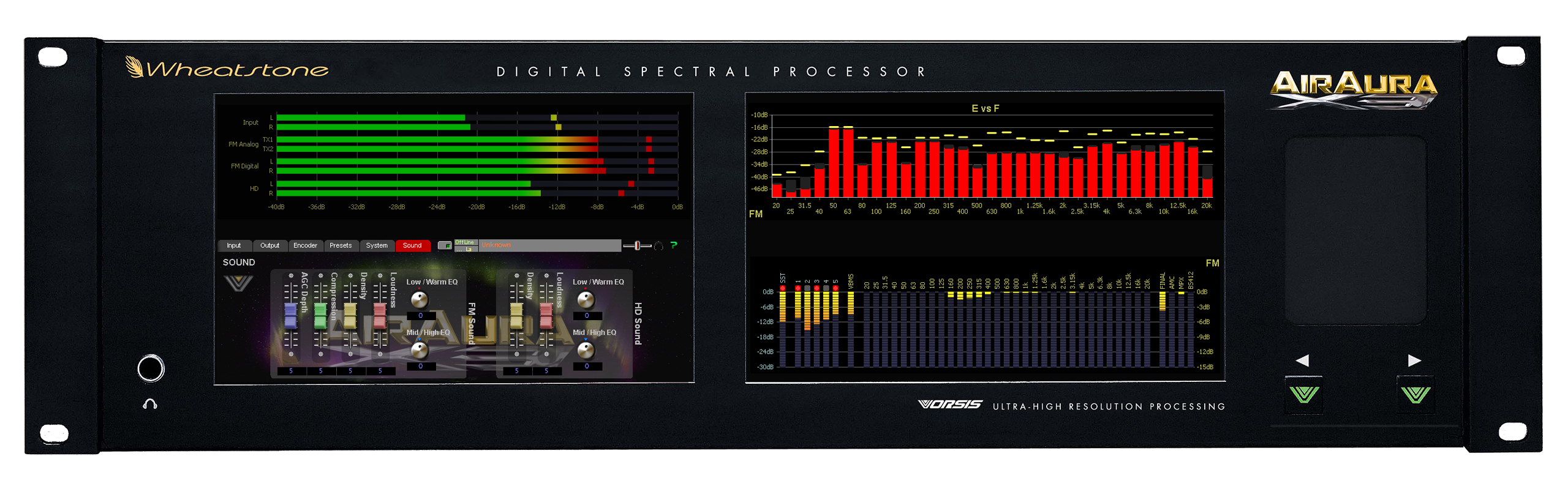Wheatstone Adds HD/FM Time Alignment to AirAura X3 Processor!