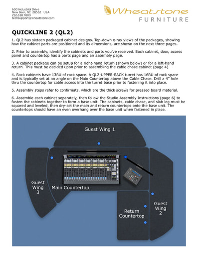 QuickLine 2 Assembly Information